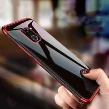 Stilvolle Transparent Weiche TPU Stoßstange Telefon Fall Schutzhülle für Xiaomi Redmi Hinweis 9s 9 8 7 6 5 pro Max 4x4 Telefon Fall