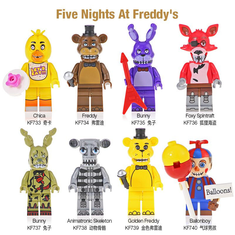 Building block Five Nights At Freddy/'s FNAF Superhero Toy Action Figures Game