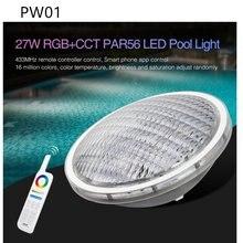 Miboxer бассейн light pw01 pw02 rgb + cct par56 Светодиодный
