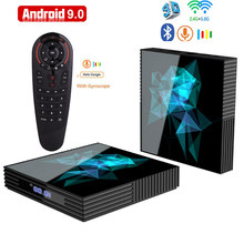 Caja inteligente Android 9,0 caja de Tv A95X Z2 Rockchip 4G 32GB 64GB Android Box Bluetooth 2,4/5,0G WiFi Google Play Android Tv box(China)