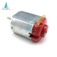 5 sztuk DC 3-6V 8000RPM R130 Mini Micro silnik DC dla DIY zabawki hobby inteligentny samochód 0.35-0.4A