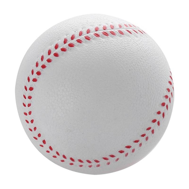 Quality 1 Pcs New Universal Handmade Baseballs Pvc Upper Hard & Soft Baseball Balls Softball Ball Training Exercise Baseball Bal