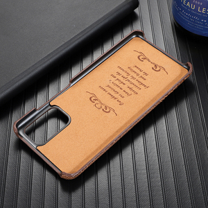 Image 5 - Super Anti fall Case For Samsung Galaxy S20 Ultra S 20 Plus S10 Plus Case Cowhide Leather Heavy Duty Protection Anti knock Cover