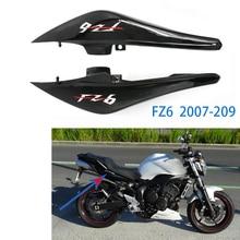 2 шт. мотоциклетные задние боковые обтекатели панели высокое качество блестящий черный пластик для Yamaha FZ6 FZ6N FZ-6N 2007 2008 2009