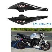 2 pedaço Painel Traseiro Da Motocicleta Carenagens Laterais Superior Brilho de Alta Qualidade de Plástico Preto Para A Yamaha FZ6 FZ6N FZ 6N 2007 2008 2009|Molduras ornamentais e capas| |  -