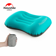 цена на Naturehike Ultralight Portable Compact Outdoor Travel Camping Pillow Compressible Inflatable Cushion Soft Headrest Pillow