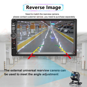 Image 5 - Podofo Android 2 Din Car Radio RAM 2GB+ ROM 32GB Android 7 2Din Car Radio Autoradio GPS Multimedia Player For Ford VW Golf