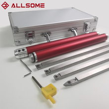 Insert-Cutter Chisel-Set Lathe Woodworking Carbide ALLSOME Aluminum Bar HT2962 Storage-Box