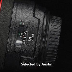Image 3 - Premium Lente f1.2 Della Pelle Della Decalcomania Wrap Film Per Canon EF50mm Anti scratch Sticker Protector