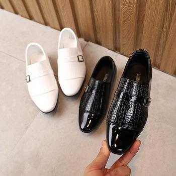Unisex Patent-Leather Flat Shoes