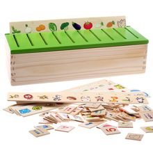 Montessori Benefits Wisdom Puzzle Toys Children Intelligence Learning Puzzles Wooden Cognitive Sorting Math
