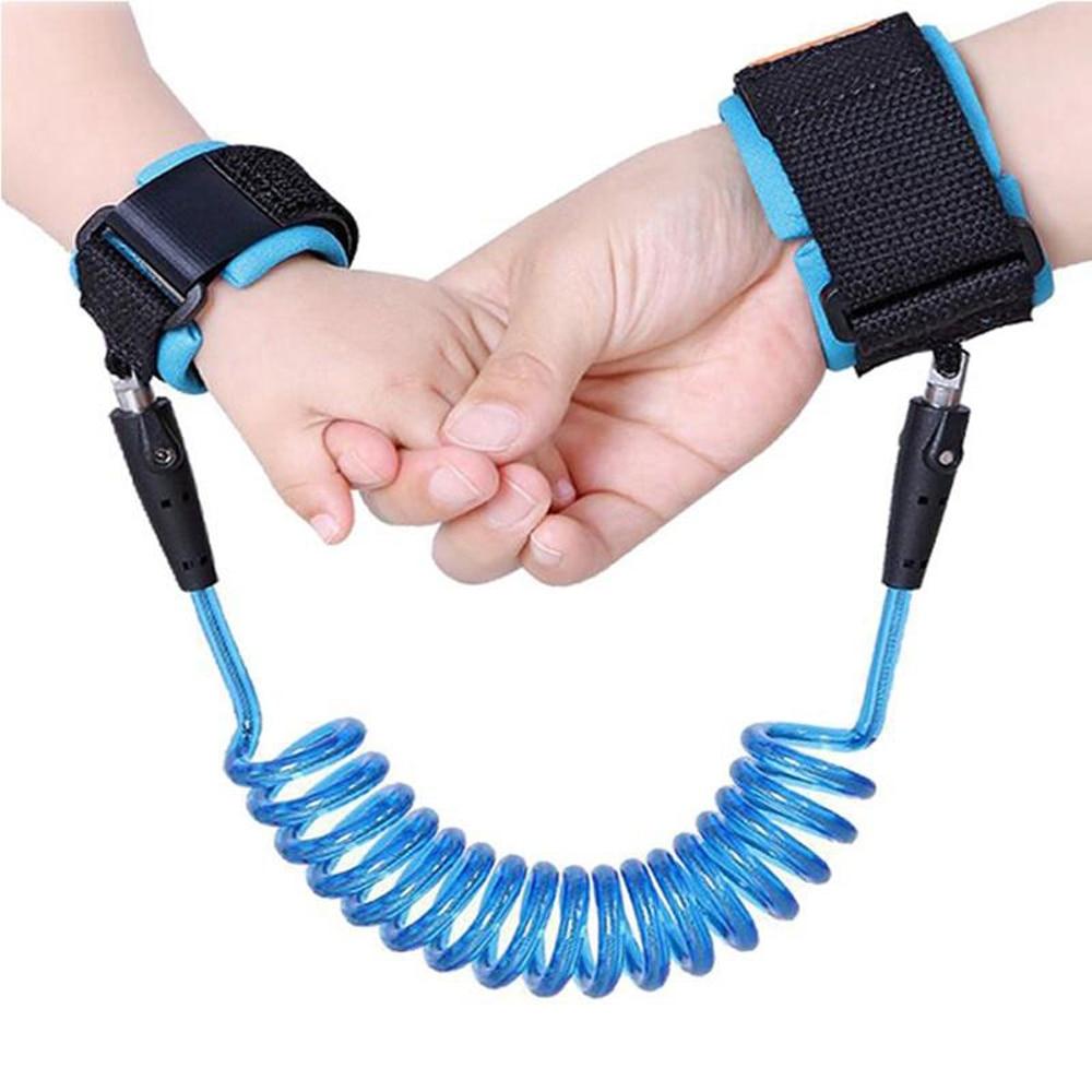 1.5/2.5m Child Wrist Leash Anti-lost Link Adjustable Kids Safety Harness Children Belt Walking Assistant Baby Walker Wristband