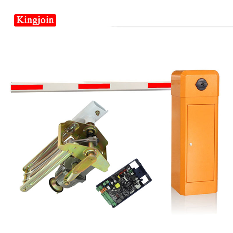 Right Machine Barrier Gate Automatic Car Blocking Machine Parking Barrier Gate Opener System Parking Barrier