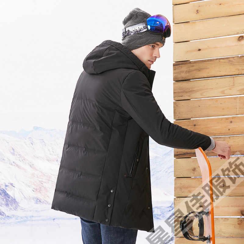 플러스 10XL 9XL 8XL 방풍 두꺼운 겨울 남성 자켓 브랜드 의류 후드 웜 오리 자켓 남성 퍼퍼 자켓 빅 사이즈