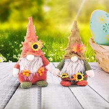 イースターバレンタイン聖パトリックの顔のない人形リトル置物飾り北欧gnome土地神老人人形ホームルームペンダント