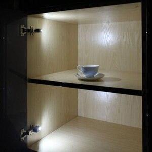 Image 4 - Lampe led pour placard, éclairage dintérieur, allumage automatique, charnières, idéal pour une armoire, une cuisine ou un placard, DC 12V, 4 pièces/lot