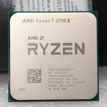 AMD Ryzen 7 3700X R7 3700X 3.6 GHz, fil à 8 cœurs sintein processeur dunité centrale 65W, 7nm L3 = 32M, prise 100 000000071, AM4
