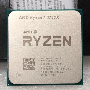 Image 1 - AMD Ryzen 7 3700X R7 3700X 3.6 GHz, fil à 8 cœurs sintein processeur dunité centrale 65W, 7nm L3 = 32M, prise 100 000000071, AM4