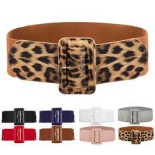 4,65€ Corsé ancho de mujer Pu charol cintura cinturón alto elástico pin up Retro ajustable Stretch 2020