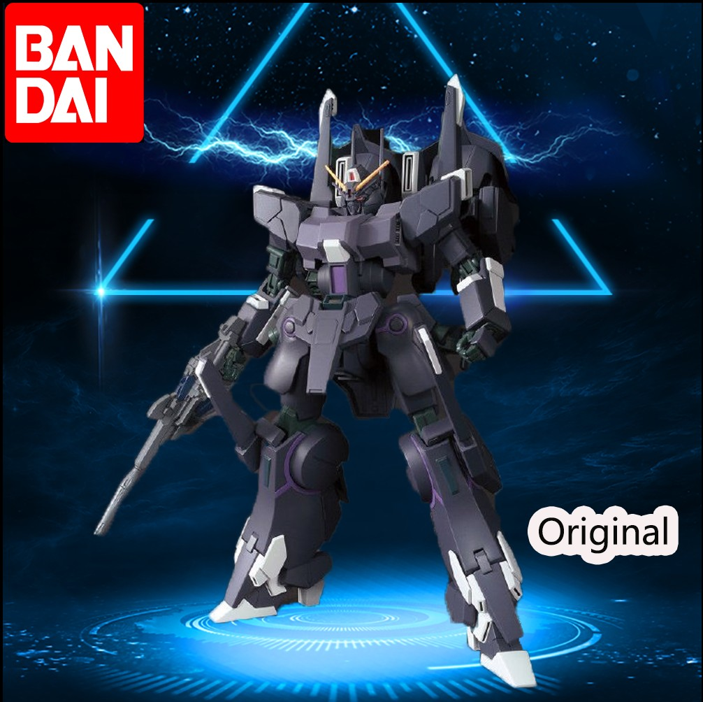 BANDA IModelo Gundam 1/144 HGUC 225 suppresseur tableau d'action hors impression tache Rare enfants assemblés cadeaux de jouets