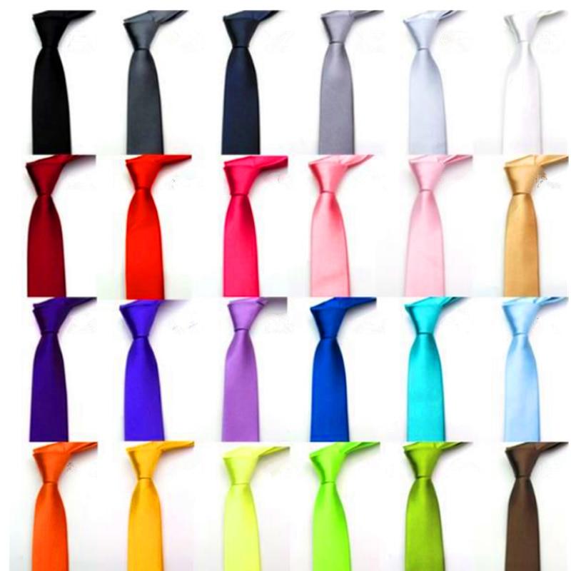 Slim Narrow Black Tie For Men 5cm Casual Arrow Skinny Red Necktie Fashion Man Accessories Simplicity For Party Formal Ties