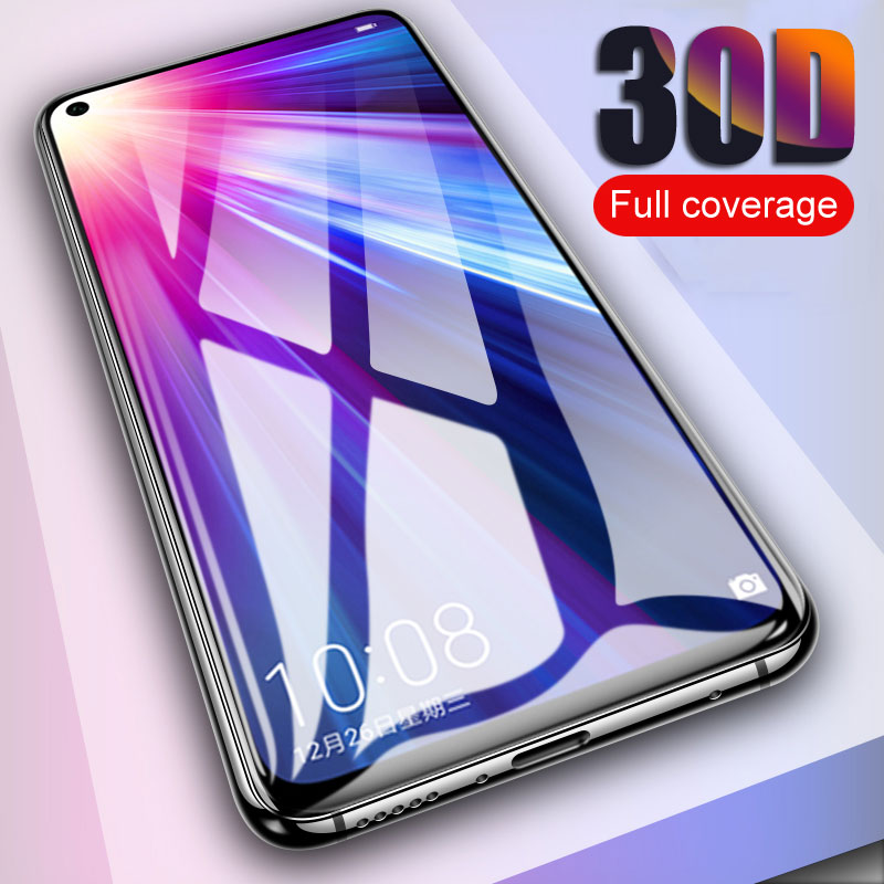 30D Full Protective <font><b>Glass</b></font> For Huawei <font><b>Honor</b></font> 8 <font><b>9</b></font> 10 20 <font><b>Lite</b></font> <font><b>Tempered</b></font> <font><b>Glass</b></font> on <font><b>honor</b></font> View 10 20 V8 V9 V10 V20 Screen Protector Film image