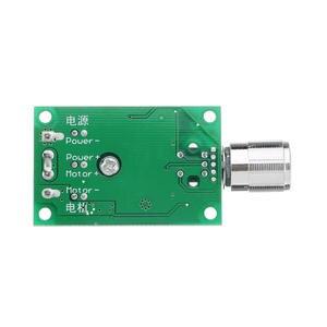 Image 5 - تيار مستمر 12 فولت إلى 24 فولت 10A عالية الطاقة PWM وحدة تحكم في سرعة محرك التيار المستمر تنظيم سرعة درجة الحرارة و يعتم سرعة تنظيم لوحة صغيرة