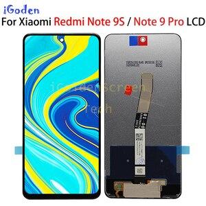 "Image 2 - מקורי 6.67 ""LCD עבור Xiaomi Redmi הערה 9 Pro LCD תצוגת מגע Digitizer מסך עבור Xiaomi Redmi הערה 9S LCD החלפת מסך"