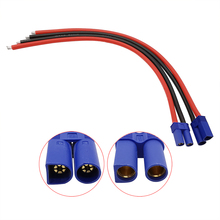 Plug Socket 10AWG Cable-Connector Rc-Battery-Toys Male Female 2pcs 500mm for EC5 Pigtail-Wire-Length