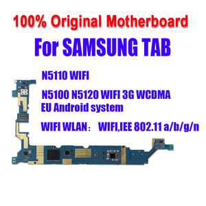 Image 2 - 100% Tested Motherboard 16GB Unlocked For Samsung Galaxy N5100 / N5110 N5120 Mainboard With Chips Logic Board Android System