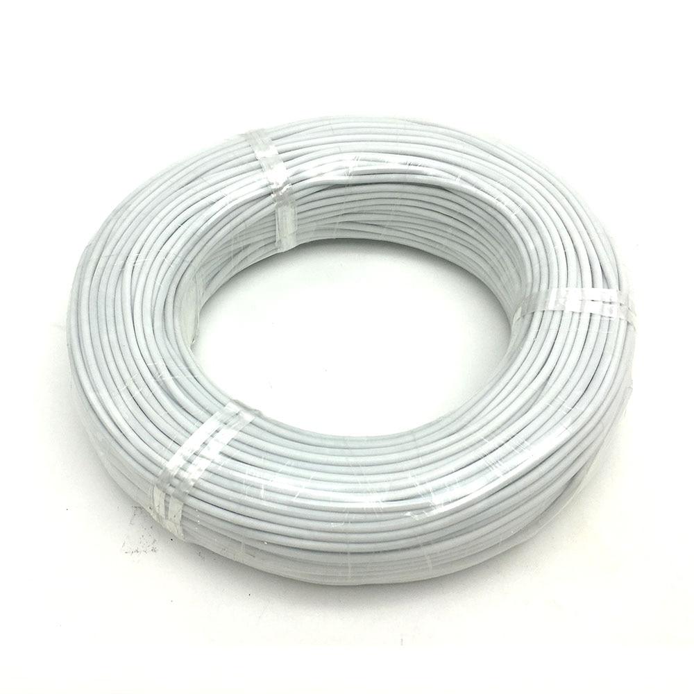 Инфракрасный углеродный кабель для нагрева пола, 15/20/30/50/100 м, 24K, 17 Ом/м, 3 мм, провод для теплого пола