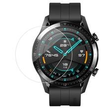 3 шт 2.5D часы Закаленное стекло протектор экрана для huawei watch GT 1/Watch GT 2 защитная пленка