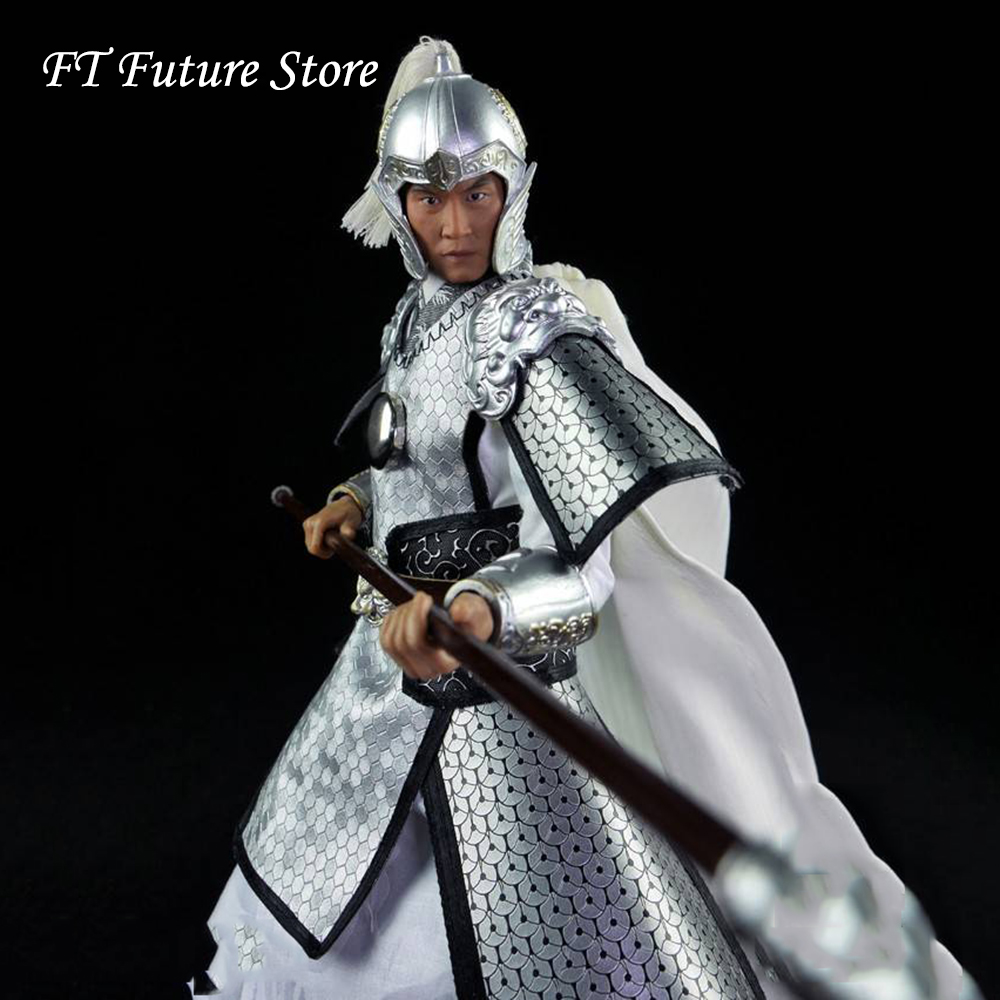 1/6 Scale Collectible Ancient Soldiers Three Kingdom Zhao Yun Action Figure Model For Fans   Holiday Gifts