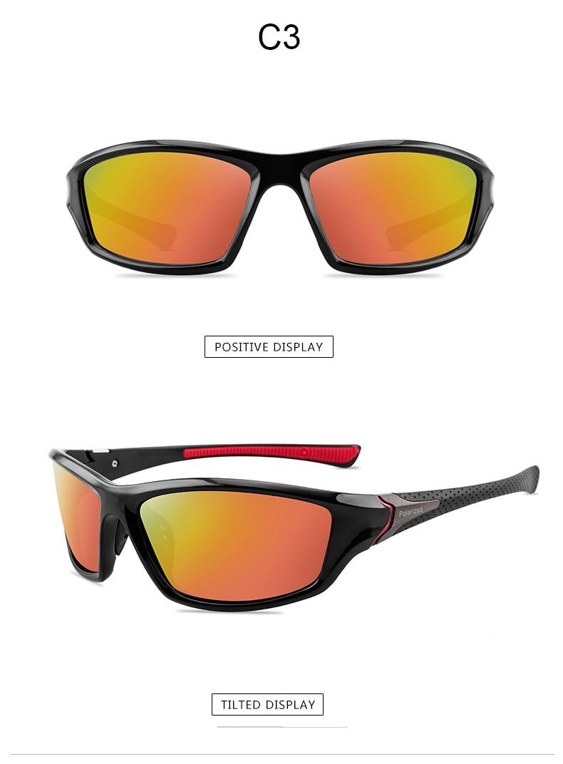 2020 New Luxury Polarized Sunglasses Men's Driving Shades Male Sun Glasses Vintage Driving Travel Fishing Classic Sun Glasses 8