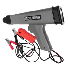 12V Inspection Tool ABS Ignition Timing Light Universal Detector Pistol Type Digital Display Car Engine Portable Ergonomic
