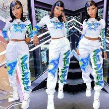2 шт Джоггеры для женщин комплект Топ с длинным рукавом и штаны