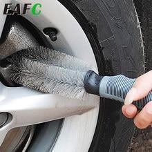 Nettoyeur de poussière pour voiture, brosse de lavage pour moyeu de roue de pneu de moto, outil de nettoyage pour voiture Audi BMW Nissan VW camion