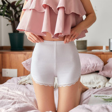 Underwear Shorts Silicone Thermal-Pants High-Waist Women for Hips