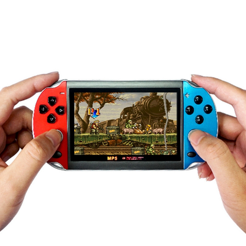 8GB 4.3 Inch Portable Handheld Game Console HD Video Game Console Built-In 3000 Retro Classic Games for GBA FC Arcade