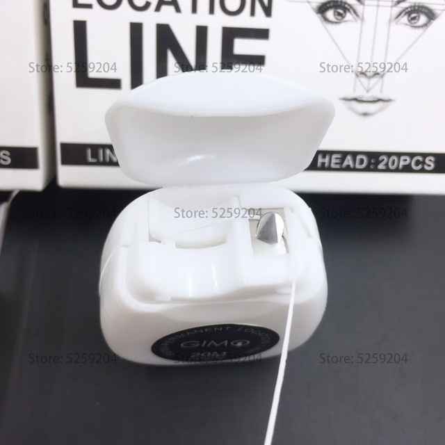 Professional Microbalding Line Maker Eyebrow Ruler Semi-permanent bow arrow line ruler majon design auxiliary eyebrow tattoo set 2