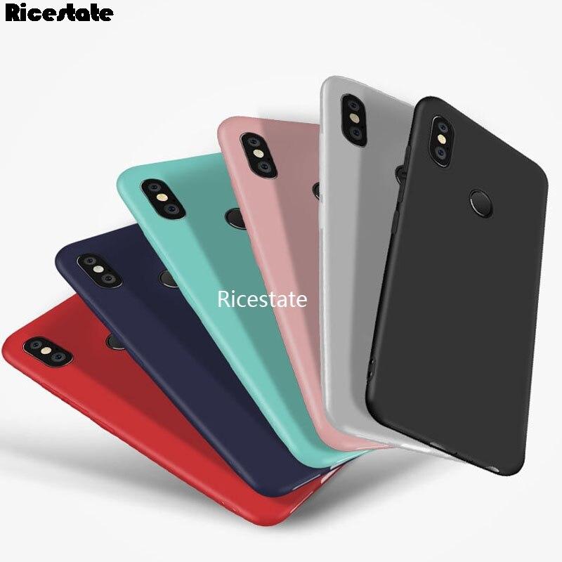 Candy Silicone Case Xiaomi Redmi S2 Redmi Note 5 6 7 8 Pro 4 4X 5 5A 6 6A 7 7A 8 8A 8T K20 K30 Shockproof TPU Cover Cases
