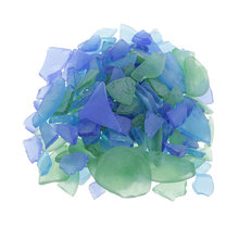 Оптом 500 г diy Поделки морское стекло матовое прозрачное пляжное