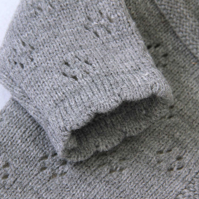 2021 jesienne zimowe dziecięce swetry dla chłopców i dziewcząt lity sweter bawełniany dla małej dziewczynki kurtka chłopcy dzieci dzianiny dziecięce swetry dziewczęce