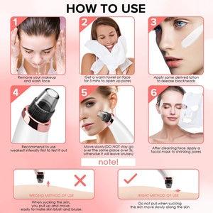 Image 5 - Blackhead Remover Pore สูญญากาศดูดสิวจุดสีดำ Comedone EXTRACTOR Facial Cleansing TOOL Diamond Dermabrasion Skin Care