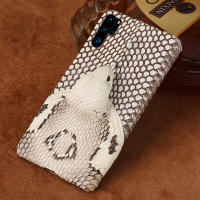 Genuine Leather snakeskins 3D phone case For Huawei P30 Pro mate 20 P20 Pro Lite Y9 P SMART 2019 Cove For Honor 10 20 8X 9X Pro