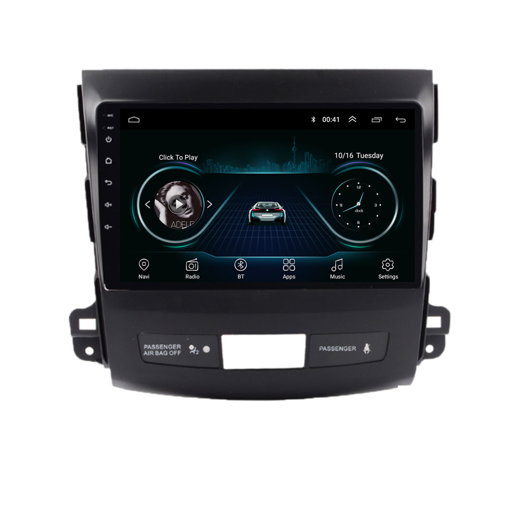 4G LTE Android 10.1 For <font><b>Mitsubishi</b></font> <font><b>Outlander</b></font> XL Citroen C-Crosser Multimedia Car DVD Player Navigation GPS Radio image