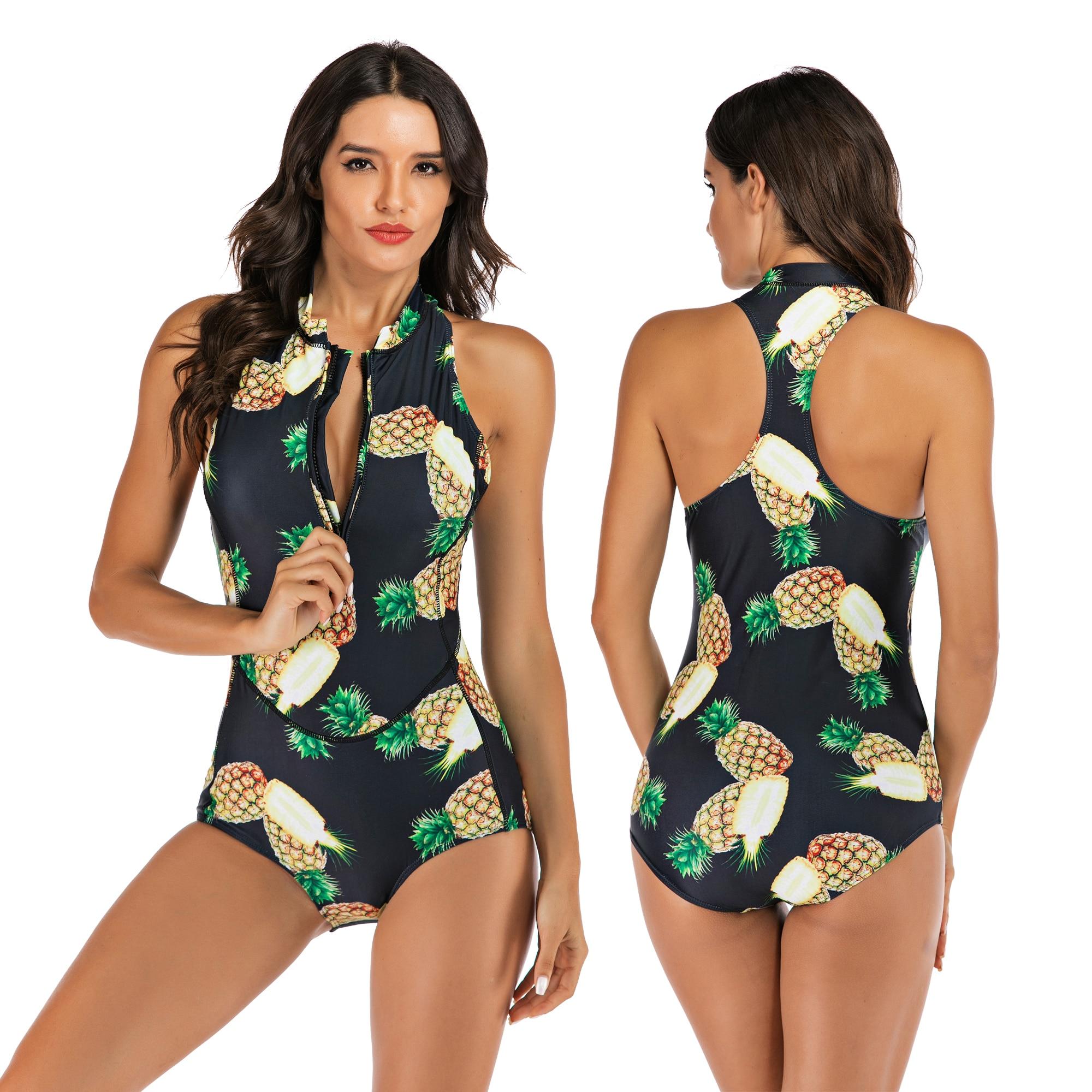 Бикини с высокой талией 2019, купальник Mujer, Женская леопардовая одежда для плавания, женский купальный костюм из 2 частей, комплект бикини, вин... 25
