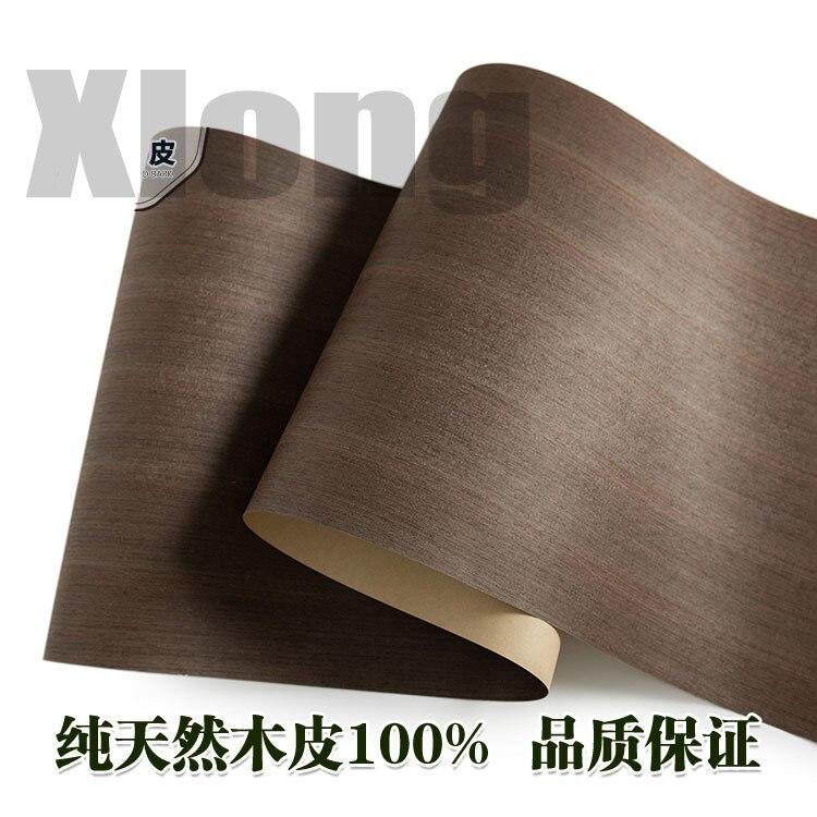 L:2.5Meters Width:600mm Thickness:0.25mm Wide Iron Knife Wood Straight Grain Furniture Veneer Veneer Natural Iron Knife Wood