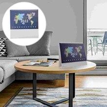 1 Pc Desktop Decorations Desk Calendar Decoration Time Plan Calendar for Message