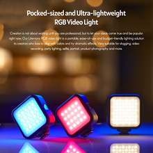 Godox LITEMONS LED6R RGB LED וידאו אור מיני למלא אור 3200 6500K 13 תאורת אפקט מגנטי ספיחה עבור הזרמה